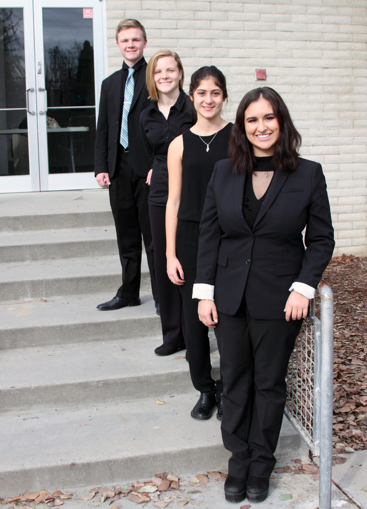 County Honor Band kids Web